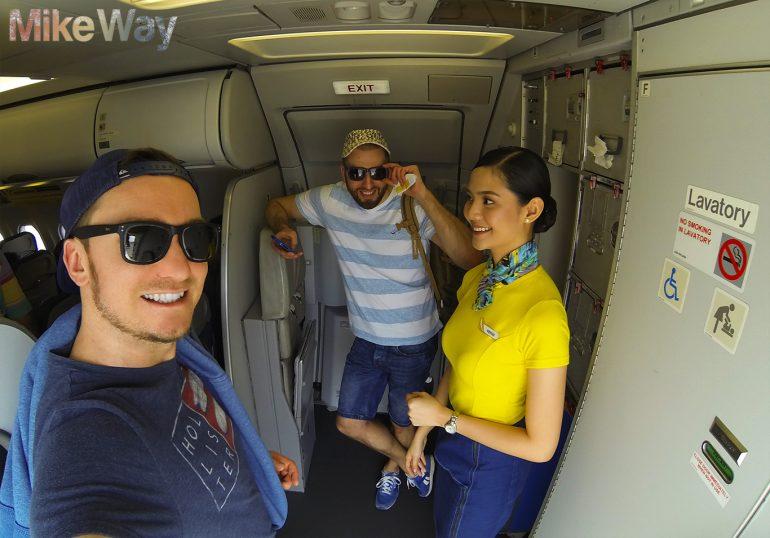 Welcome to Philippines. Pani stewardessa miała na imię Venus - jakbyś ktoś pytał.